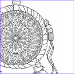 Dream Catcher Coloring Page Beautiful Photos Items Similar To Dream Catcher Coloring Page To Print And
