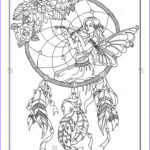 Dream Catcher Coloring Page Beautiful Stock 114 Best Images About Dreamcatcher Coloring Pages For