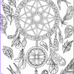 Dream Catcher Coloring Page Cool Images Dream Catcher Coloring Pages Best Coloring Pages For Kids
