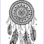 Dream Catcher Coloring Page Inspirational Photos Kids N Fun