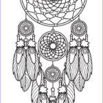 Dream Catcher Coloring Page Luxury Image Dreamcatcher Coloring Page