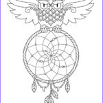 Dream Catcher Coloring Pages For Adults Best Of Stock Kids N Fun