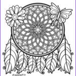 Dream Catcher Coloring Pages For Adults Elegant Gallery 159 Best Dreamcatcher Coloring Pages For Adults Images On
