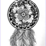 Dream Catcher Coloring Pages For Adults Elegant Image 24 Best Dreamcatcher Coloring Pages Images On Pinterest