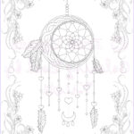 Dream Catcher Coloring Pages For Adults Elegant Stock Adut Coloring Page Fantasy Art Dream Catcher Coloring Page