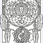 Dream Catcher Coloring Pages For Adults New Photography 24 Best Dreamcatcher Coloring Pages Images On Pinterest