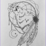 Dream Catcher Coloring Pages For Adults New Photography Wolf Dreamcatcher By Sakiama D863vxp 816×980