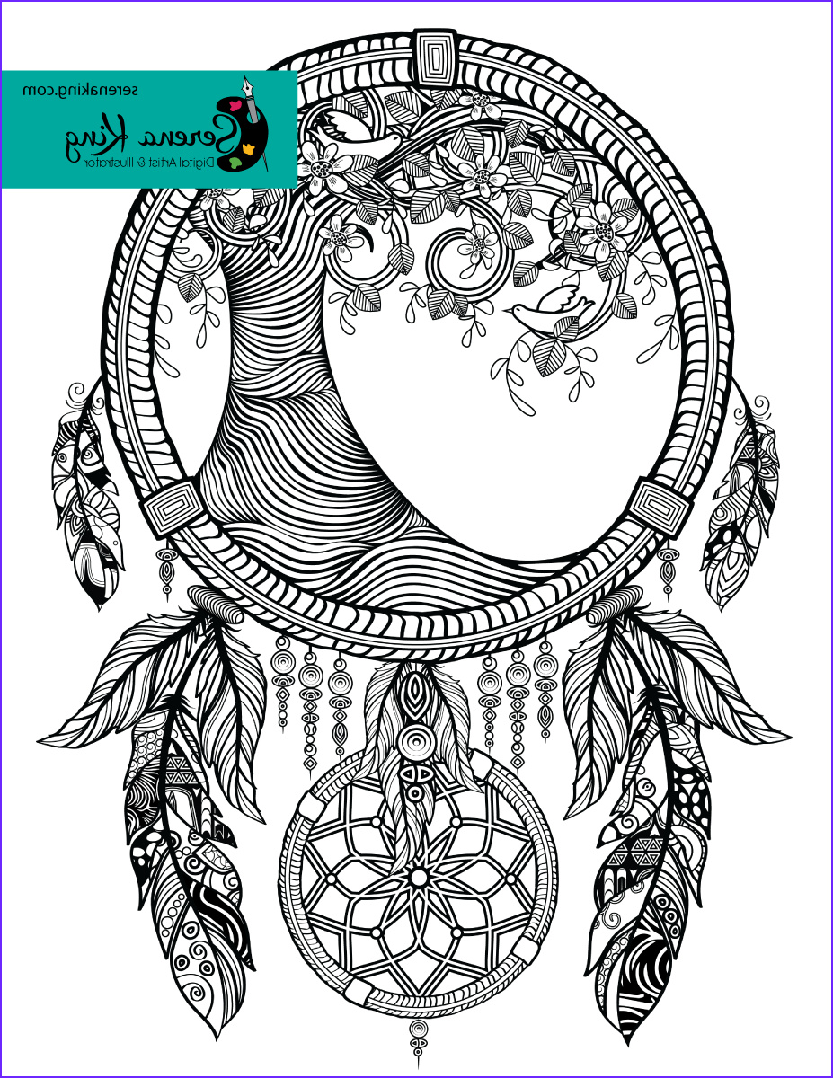 Dreamcatcher Coloring Page Best Of Images Tree Dreamcatcher Coloring Page