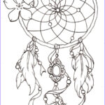 Dreamcatcher Coloring Pages Awesome Images Dreamcatcher Tattoos Designs Ideas And Meaning