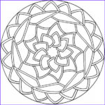 Easy Adult Coloring Pages Luxury Images Simple Mandala Coloring Pages Mandala