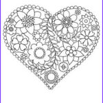 Easy Adult Coloring Pages Unique Collection Happy Coloring Easy Flowers Coloring Book For Adults By