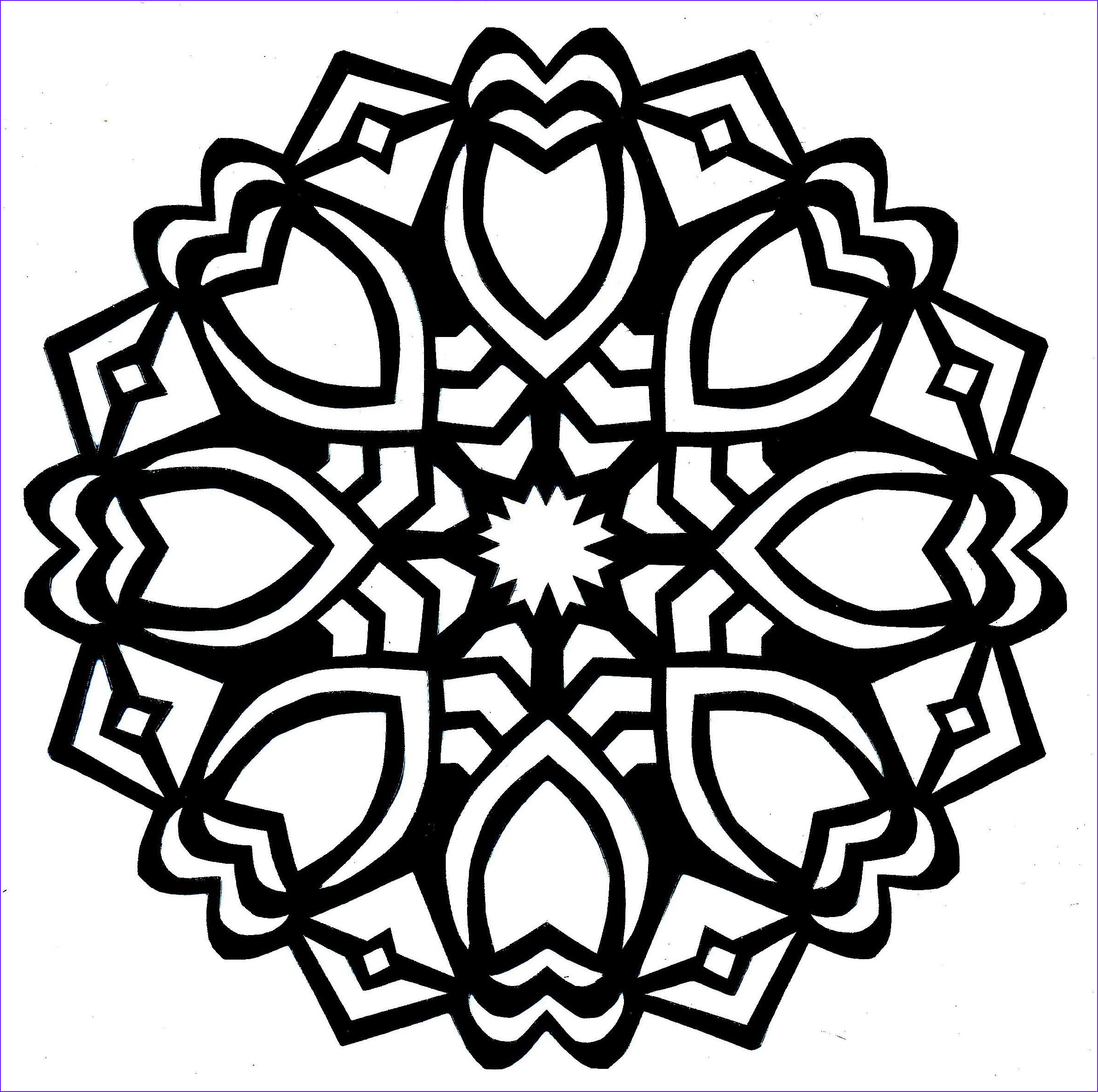 Easy Adult Coloring Pages Unique Images Simple Mandala Coloring Pages Google Search