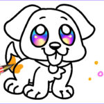 Easy Coloring Awesome Photos Easy Dog Coloring Pages For Kids