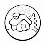 Easy Coloring Beautiful Photos Preschool Christmas Coloring Pages