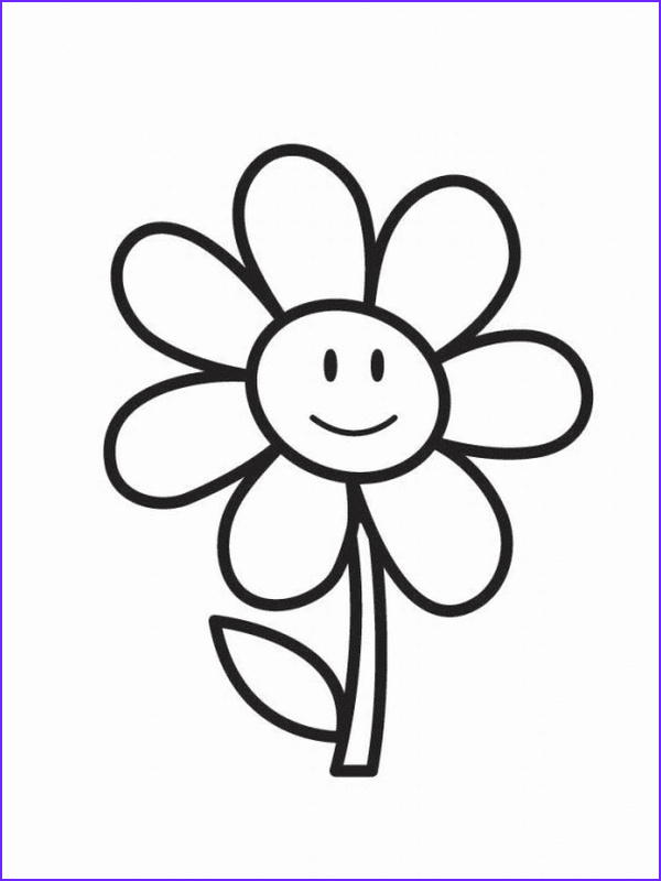 cute and easy coloring pages