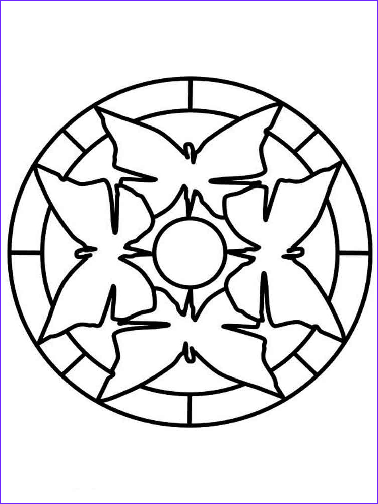 Easy Coloring Book For Adults Awesome Photos Simple Mandala Coloring Pages For Adults Free Printable