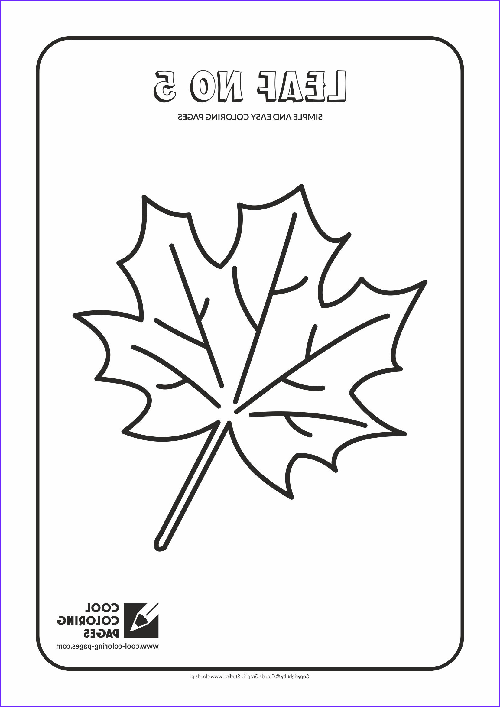 simple and easy coloring pages