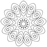 Easy Coloring Cool Photography Free Printable Geometric Coloring Pages For Kids