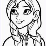 Easy Coloring Elegant Image Free Printable Frozen Coloring Pages For Kids Best