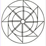 Easy Coloring Elegant Image Free Printable Mandalas For Kids Best Coloring Pages For