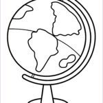 Easy Coloring Inspirational Images Coloring Pages Globe High Quality