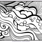 Easy Coloring Pages For Adults Best Of Stock Abstract Coloring Pages Free