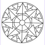 Easy Coloring Pages For Adults Cool Images Simple Mandala Coloring Pages For Adults Free Printable