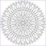 Easy Coloring Pages For Adults Cool Images These Printable Mandala And Abstract Coloring Pages