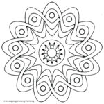 Easy Coloring Pages For Adults Unique Stock Mandala Coloring Pages Easy Mandala Coloring Pages