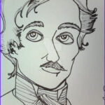Edgar Allan Poe Coloring Pages Beautiful Stock Coloring Edgar Allan Poe By Kalan Savage On Deviantart