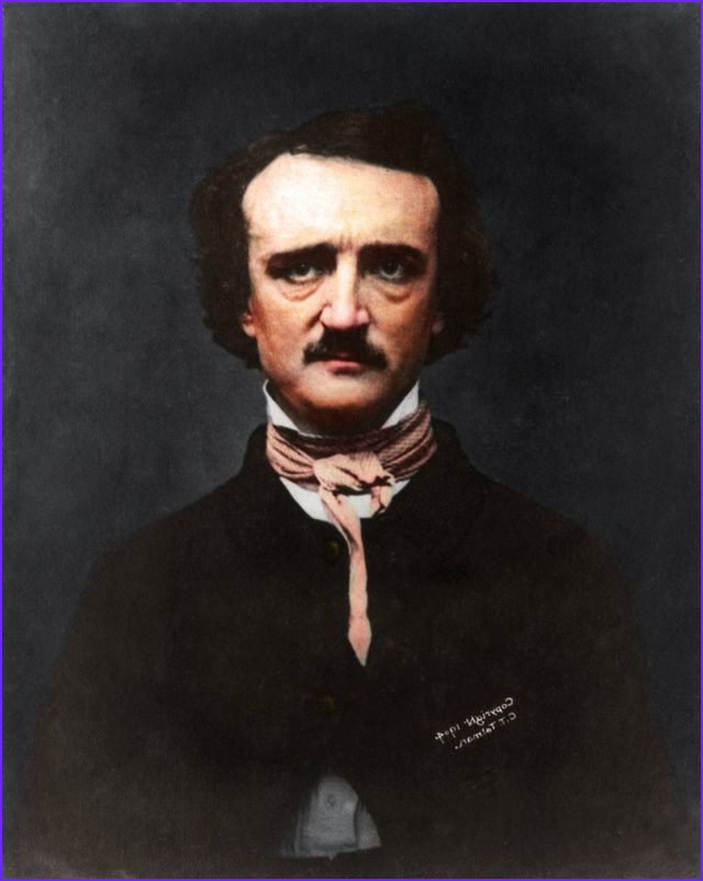Edgar Allan Poe Coloring Pages Best Of Images Famous Historic Graphs Transformed by Color