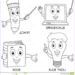 Educational Coloring Books Unique Photography Coloring Learning Characters Stock Vector Image