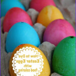 Egg Dyeing With Food Coloring Awesome Photography How To Dye Eggs With Food Coloring
