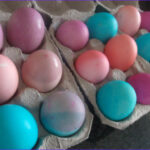 Egg Dyeing With Food Coloring Beautiful Photos Dye Easter Eggs Frugally With Food Coloring Mommysavers
