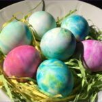Egg Dyeing With Food Coloring New Photography Easter Egg Coloring Project Use Whipped Cream And Food