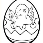 Eggs Coloring Pages Elegant Image Easter Chick And Egg Clipart Best Easter