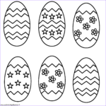 Eggs Coloring Pages Inspirational Photography Six Easter Eggs Coloring Page Easter