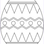 Eggs Coloring Pages Inspirational Photos Easter Egg With Abstract Pattern Coloring Page