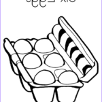 Eggs Coloring Pages Luxury Gallery Six Eggs Coloring Page Twisty Noodle