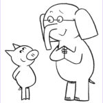 Elephant Coloring Pages Best Of Gallery Elephant And Piggie Coloring Pages Coloring Home
