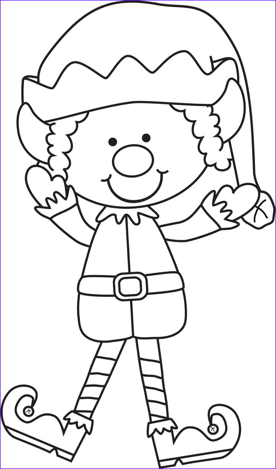 Elf Coloring Pages Printable Best Of Images I M All Booked Library Lesson the Library S Shelf Elf