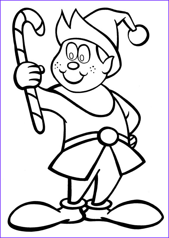 candy cane coloring pages