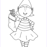 Elf Coloring Pages Printable Luxury Photos Printable Girl Elf The Shelf Coloring Pages Coloring Home