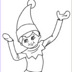 Elf On The Shelf Coloring Sheets Beautiful Photography Free Printable Elf Coloring Pages For Kids