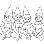 Elf On The Shelf Coloring Sheets Beautiful Stock Elves On The Shelf Coloring Page