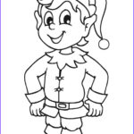 Elf On The Shelf Coloring Sheets Beautiful Stock Free Printable Elf Coloring Pages For Kids