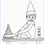 Elf On The Shelf Coloring Sheets Elegant Image Free Printable Elf Coloring Pages For Kids