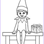 Elf On The Shelf Coloring Sheets Elegant Photos Free Printable Elf Coloring Pages For Kids