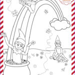 Elf On The Shelf Coloring Sheets Inspirational Gallery St Patrick S Day Printable
