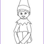 Elf On The Shelf Coloring Sheets Luxury Collection Christmas Elf On Shelf Coloring Page